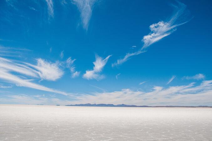 玻利维亚印加华西岛盐滩的美丽照片