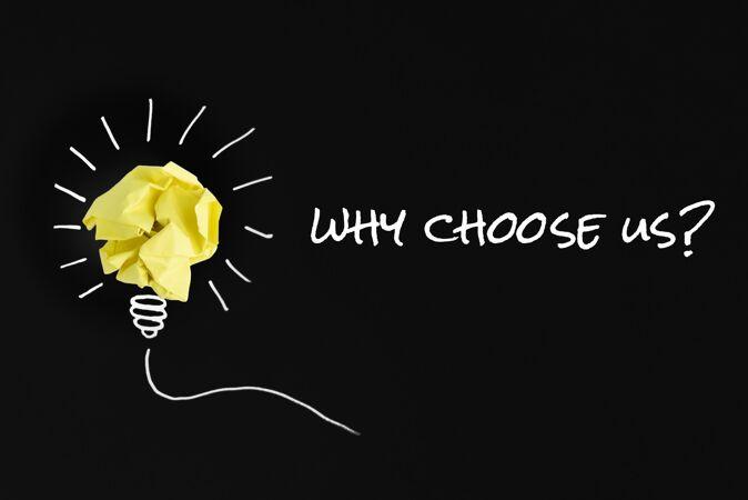 为什么选择我们的问题与纸灯泡