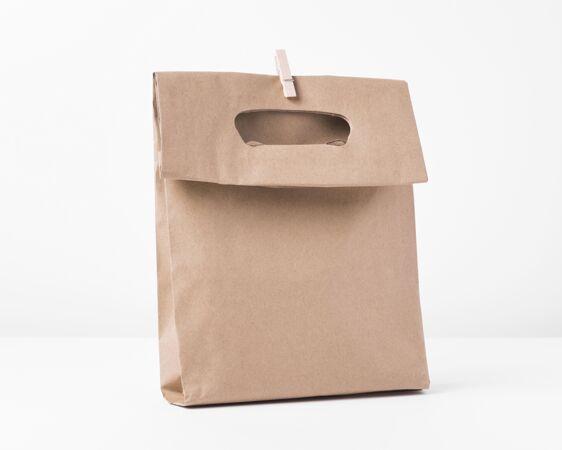 纸袋概念模型