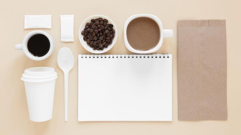 上图咖啡品牌元素